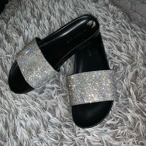Blinged out sandals brand new  (madden girl)